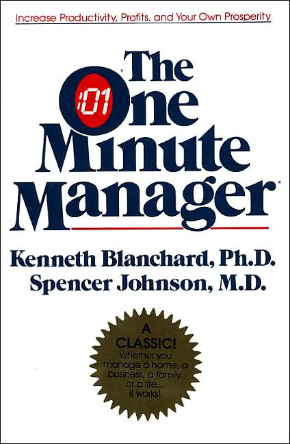 one minute manager - book review