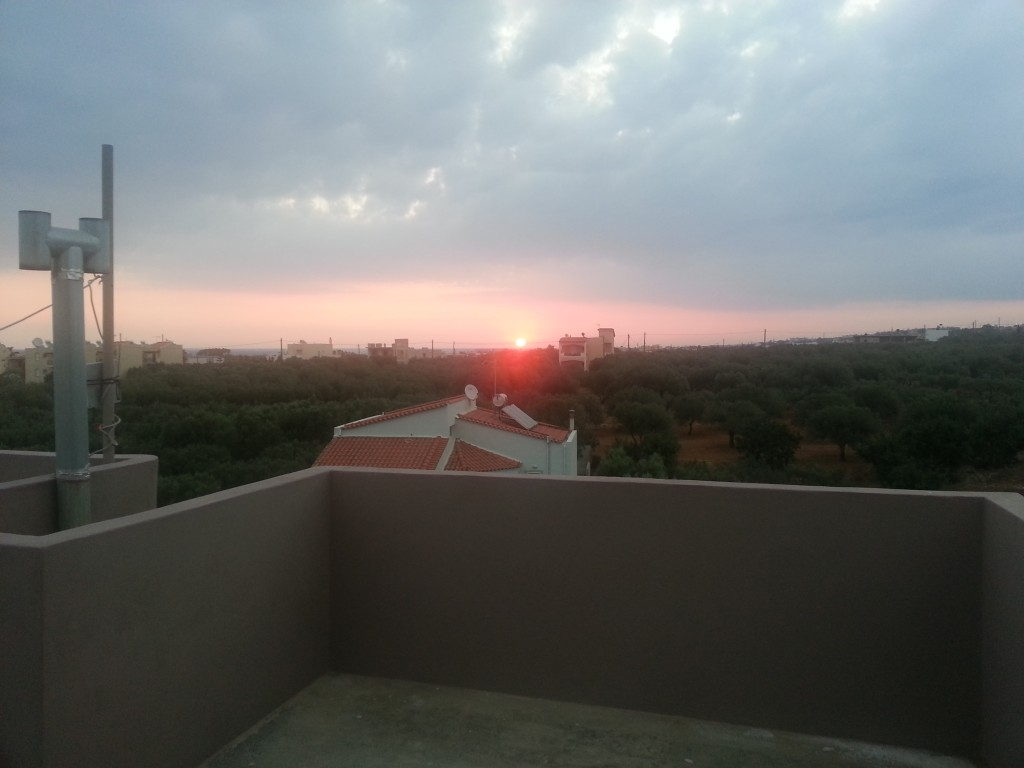 Sunrise in Crete
