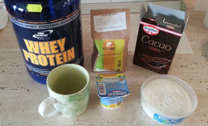 Protein Mousse Ingredients