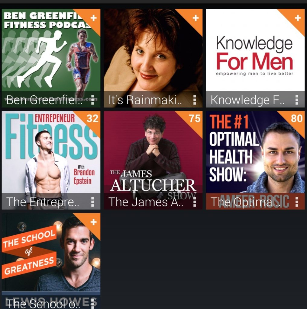 7 Podcasts on Optimizing Health and Entrepreneurship that I Tune-In to